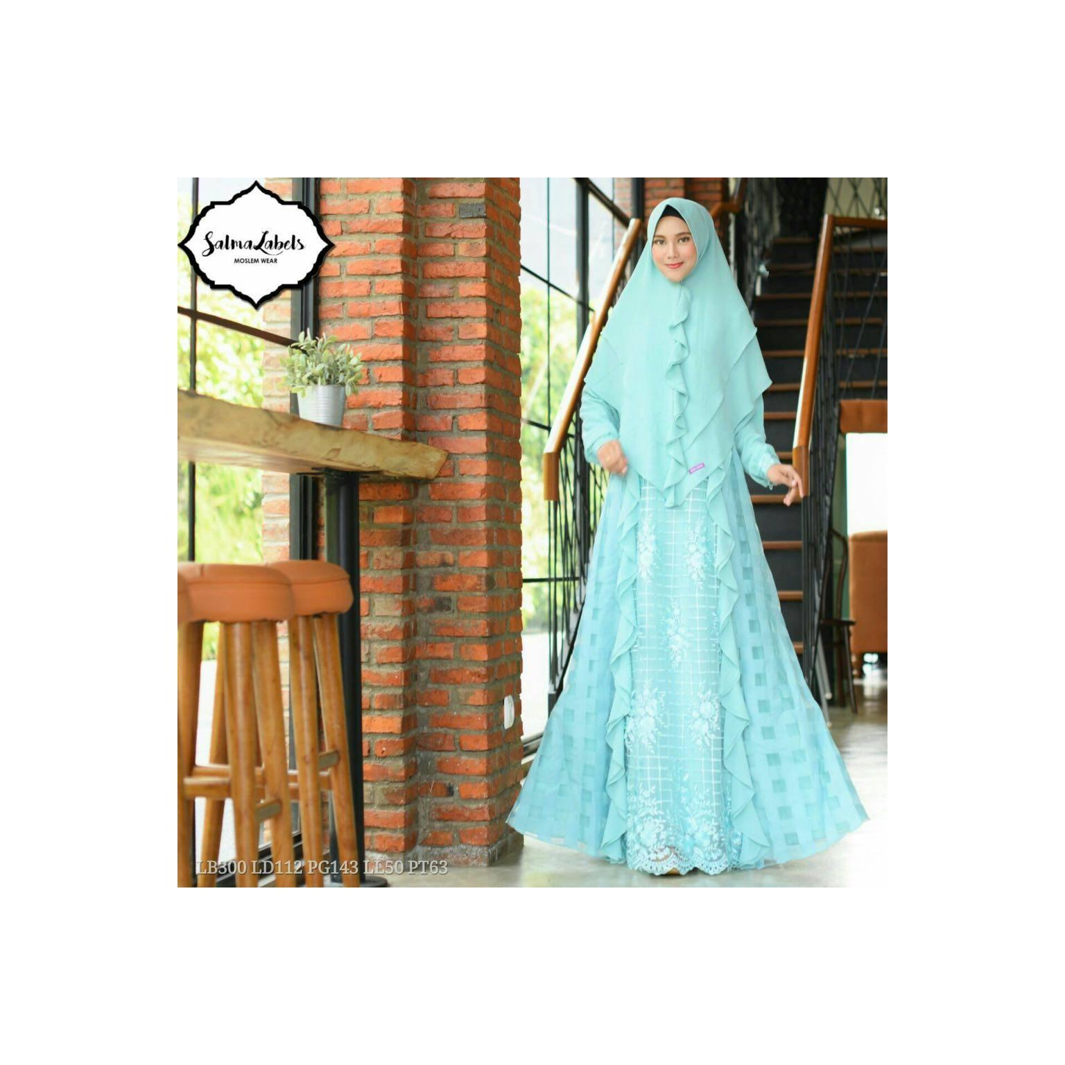 Revalina Syari by Salma Labels READY STOCK - MINT