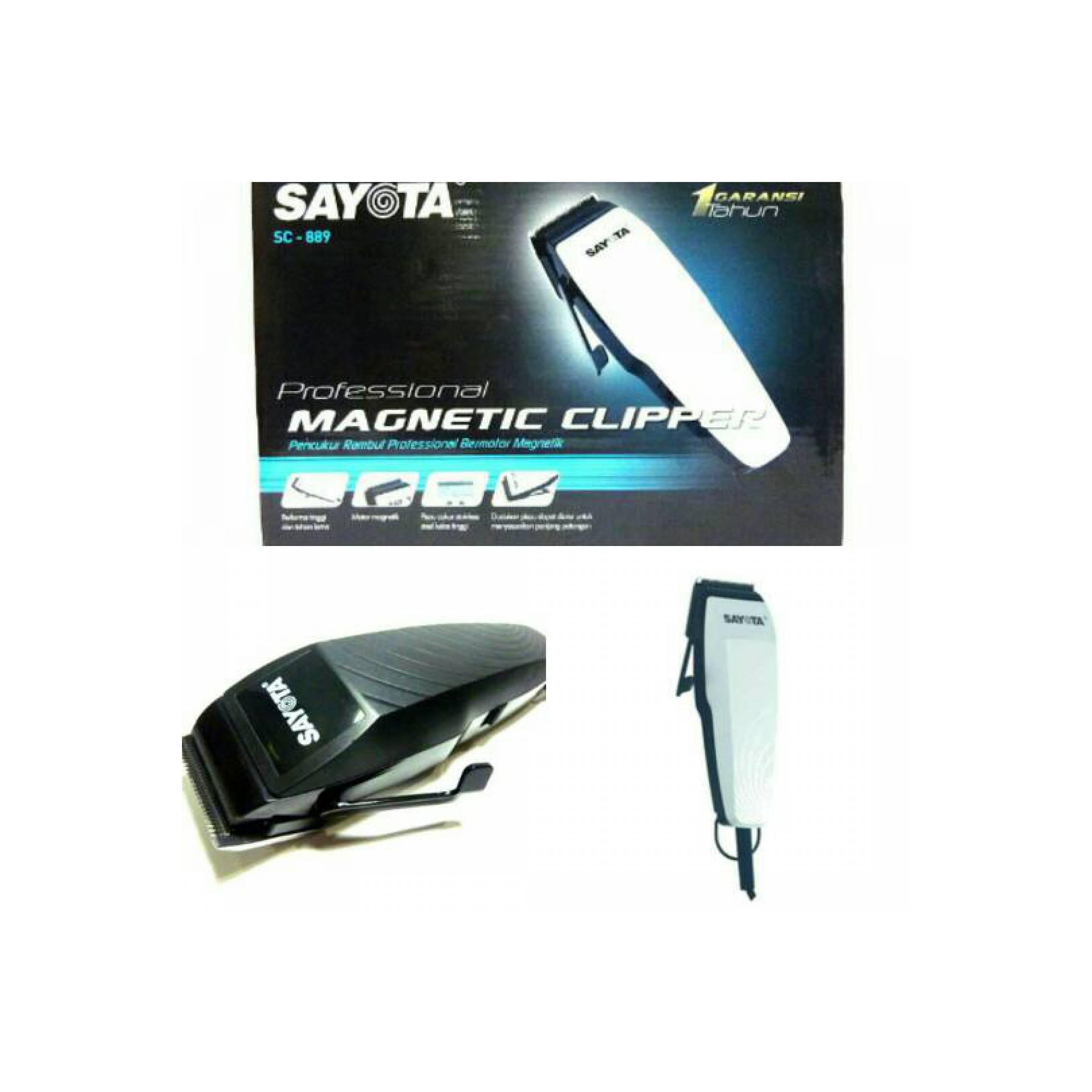 ... Home Sayota Sc 889 Magnetic Clipper Profesional ALAT CUKUR RAMBUT SAYOTA S 889