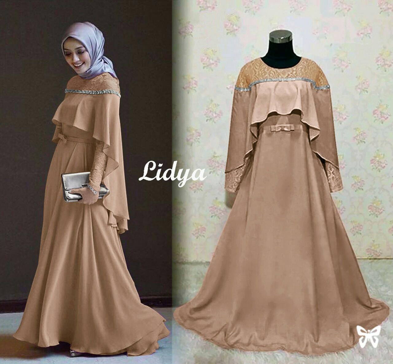 FJCO SIS Lydia / Dress panjang wanita / Gamis / Fashion Muslimah