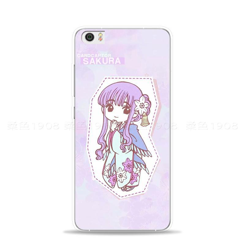 Catatan Selubung Ponsel Note 2 Xiaomi 2 Dimensi Karakter Cardcaptor Sakura