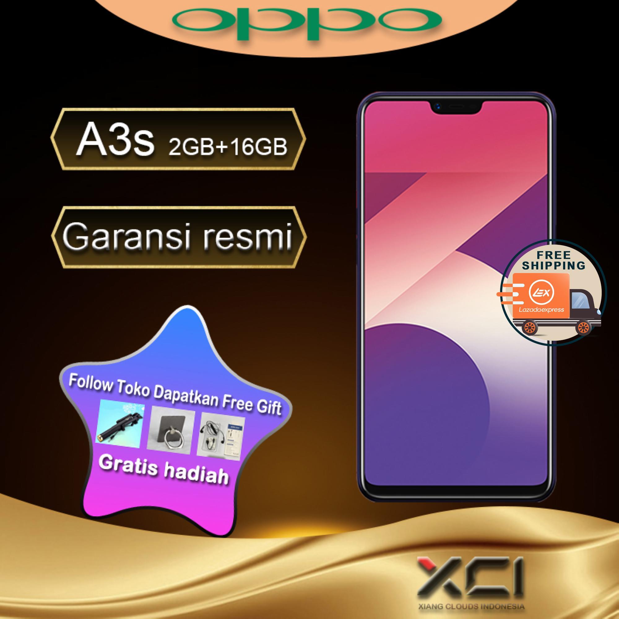 OPPO A3S 2G/16G - AI Beauty 2.0 Speedy Facial Unlock Garansi resmi