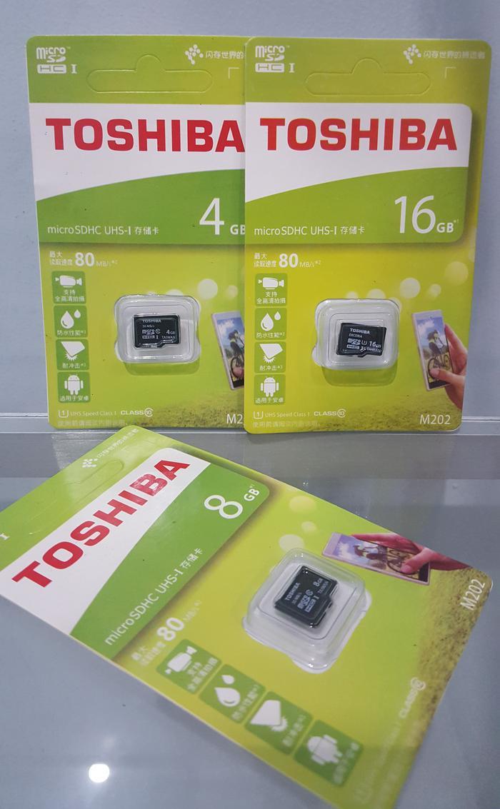 MMC TOSHIBA 16GB SDHC / MICRO SD TOSHIBA 16 GB / MEMORY HANDPHONE