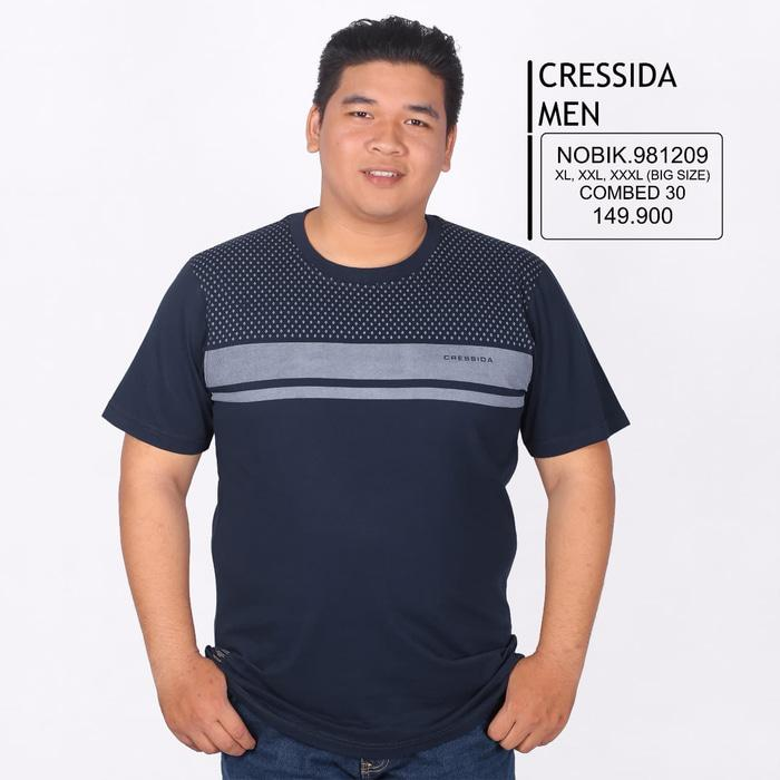 Best Seller!! Kaos Cressida Men Big Size 16 - ready stock