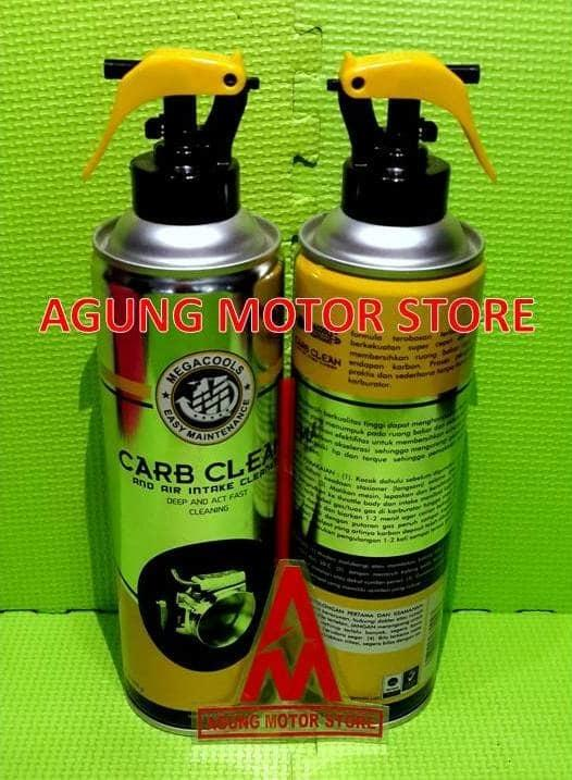 Terbaru!! Carburator Cleaner And Injector Cleaner Megacool (500Ml) - ready stock
