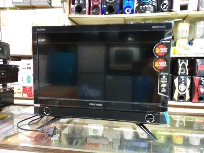 POLYTRON PLD-20D9501 LED TV 20 Inch 20D9501 PLD20D9501 Garansi 5 Tahun