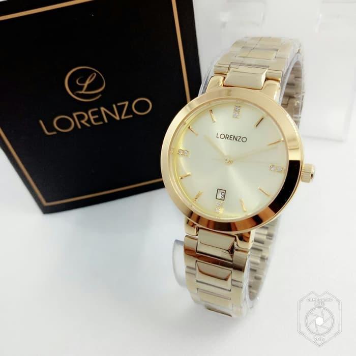 LORENZO L103 RANTAI TANGGAL ORI ANTI AIR FULL GOLD