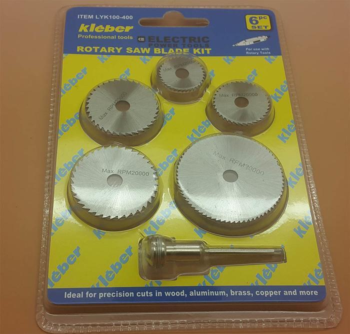 Rotary Saw Blade Kit ( Mata Tuner Gergaji ) 6 Pcs Set KLEBER