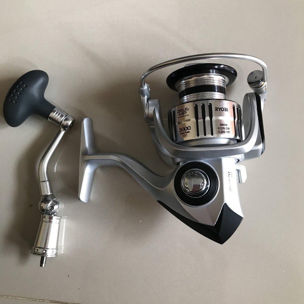 Reel Ryobi Zeus 3000 power handle  TERBARU BOS PANCING zerya_fishing