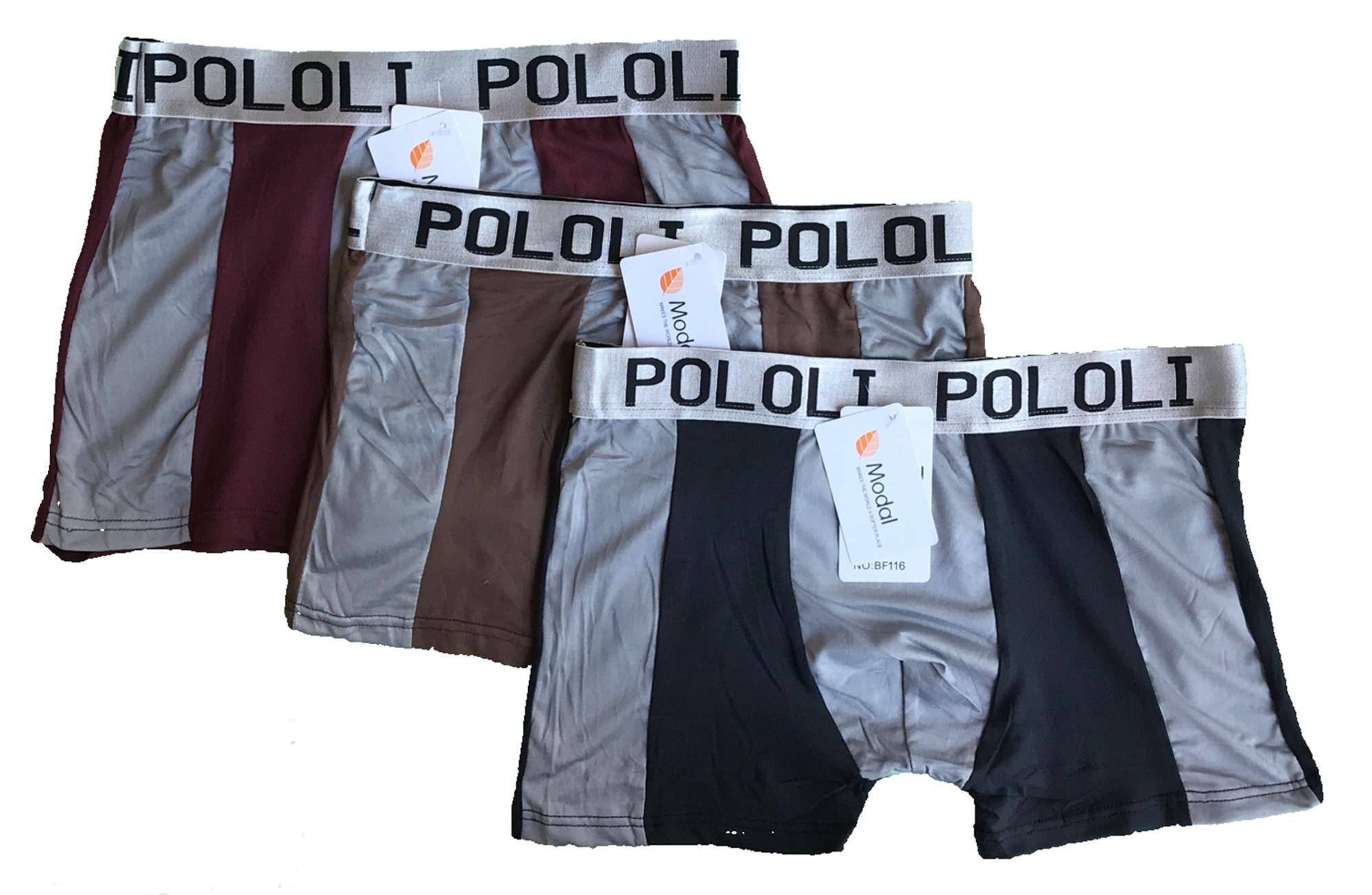 Pakaian Dalam Boxer Pria Termurah P 1 Celana Seamless Trunks 01 2 Pcs Padie 3 Model Multi Colour Sempak Underwear Laki