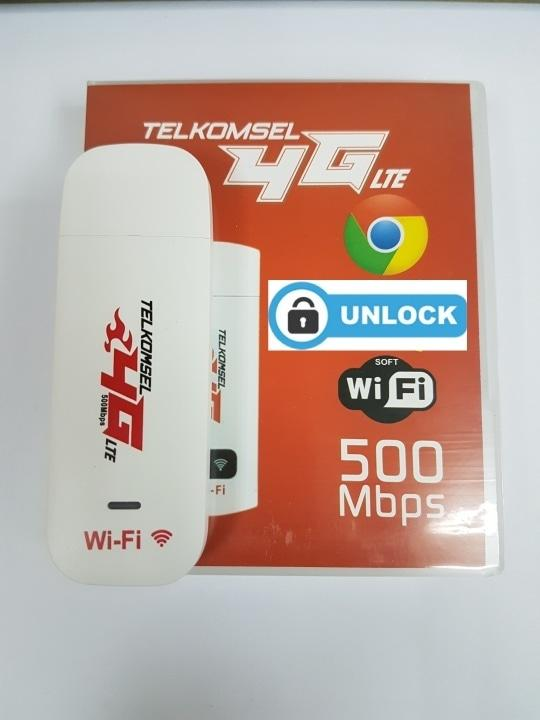 Modem Wifi 4g Lte Telkomsel Flash 500mbps Unlock All Gsm [best Seller] By Ibadi Shop.