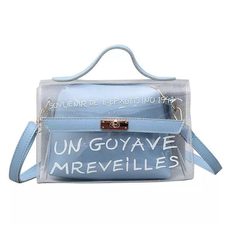 Lumin Goyave BG-04 Tas Transparan Handbag PVC