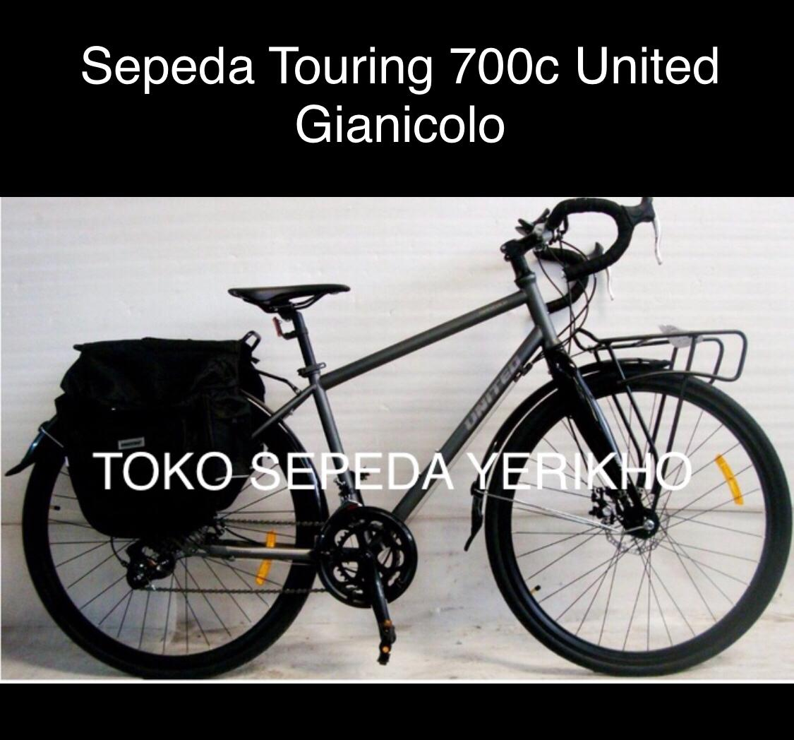 Sepeda Touring 700c United Gianicolo Mirip Rockford