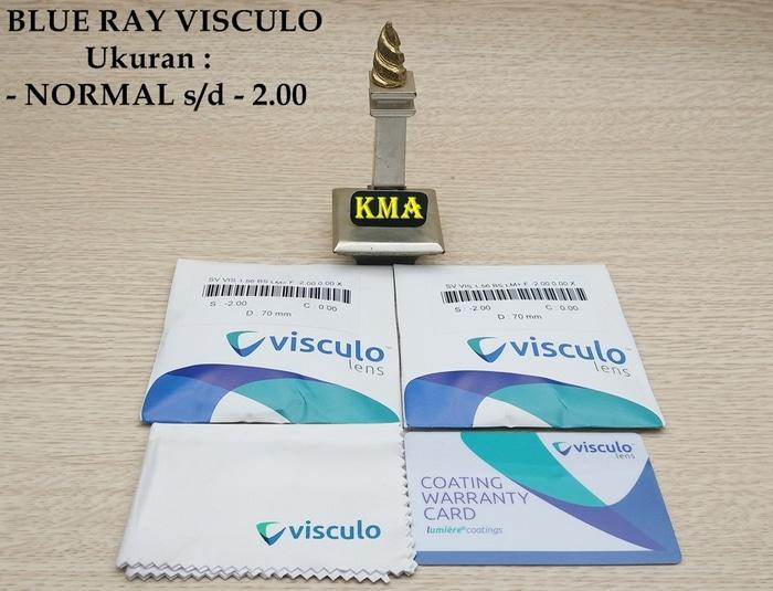 lensa blueray VISCULO ORIGINAL lensa minus blue ray anti radiasi