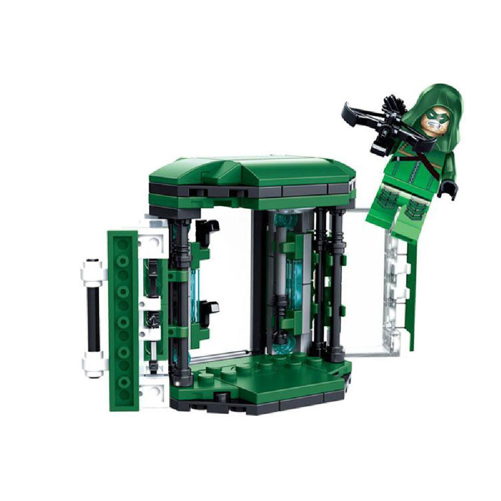 Gansatoy lego SY 222C green arrow+weapon display racks 111pcs gnz 2436