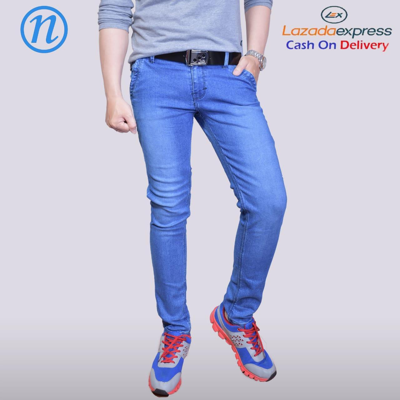100+  Celana Jeans Biru Pria Terbaru Gratis