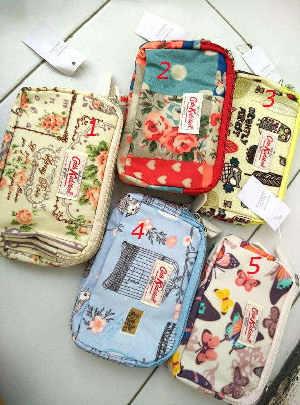 tempat hp cathkidstone 3 resleting dompet wanita android pouch Terkini