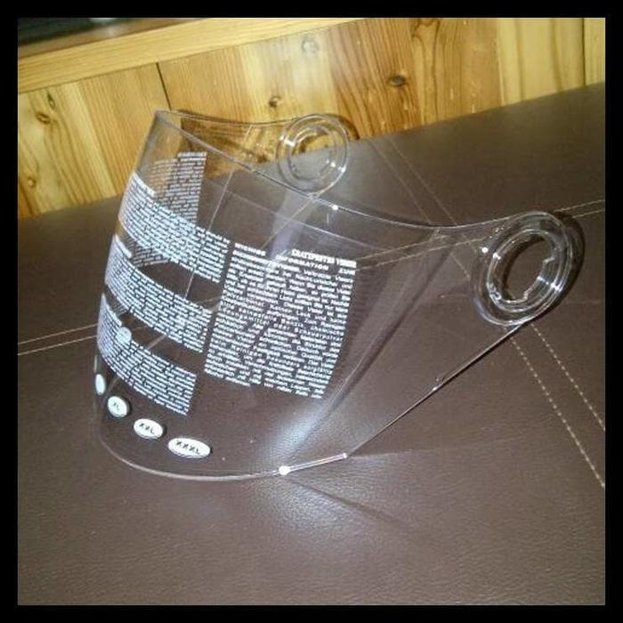 Best Price! Visor/Kaca Helm Zeus Z610 Clear ..