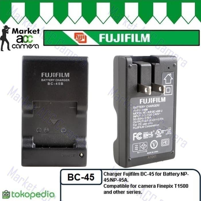 Charger Fujifilm BC-45 Original for NP-45 (Finepix Z 100FD/20FD/10FD) TERLARIS