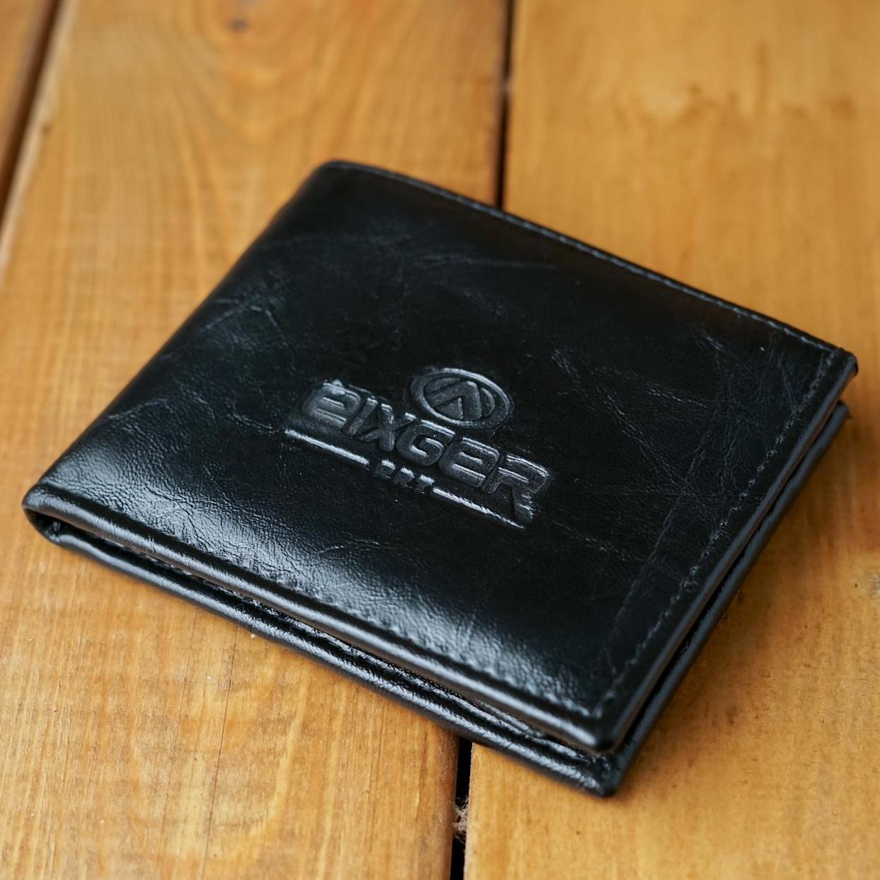 Dompet pria kulit sintetis minimalis-Dompet classic elegant-Dompet lipat 2- Dompet murah