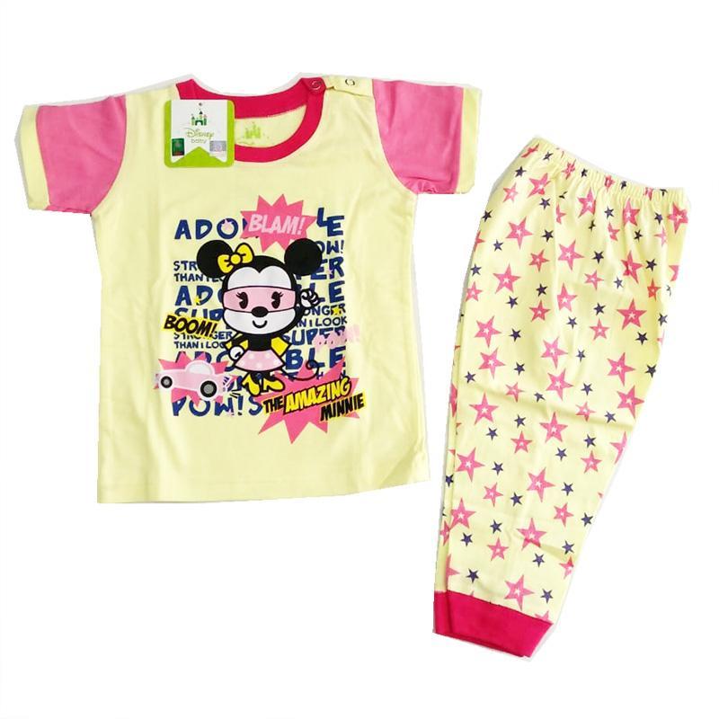 AA Toys Piyama Bayi Usia 0-6 Bulan - Baju Tidur Bayi Perempuan