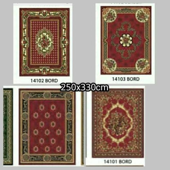 dinasty super jumbo only red,ready lagi,karpet tebal,karpet empuk - 83d9Jk