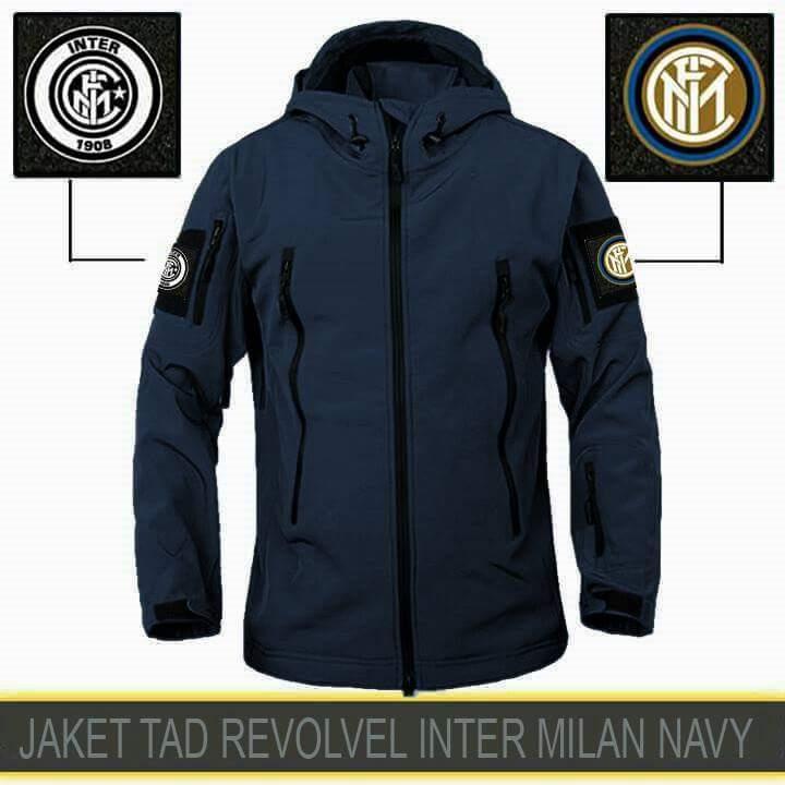 Jaket taktikal jokowi parasut hitam-army-grey- NAVY Inter milan M L XL XXL