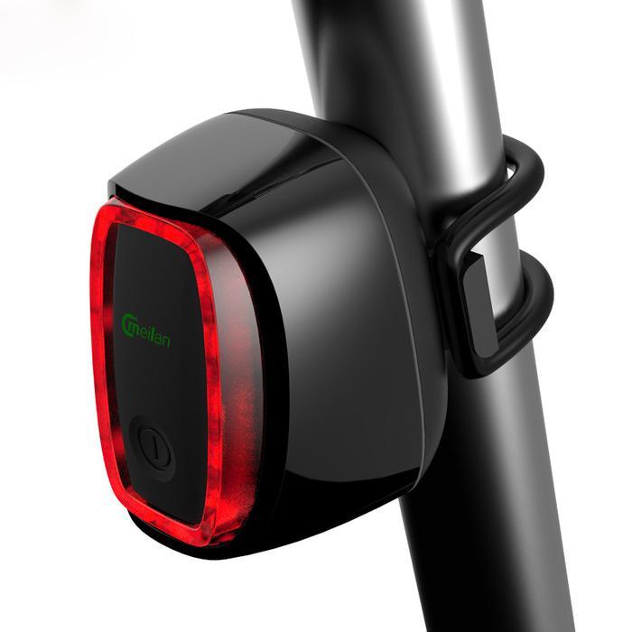 ... Usb Isi Ulang Sepeda Pintar Belakang Lampu-Internasional. Source · Meilan X6 Lampu Sepeda Rechargeable Bicycle Smart Taillight WarningIDR197900.