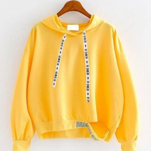 KEI'S jaket sweater wanita BREAKING MUSTARD SWEATER fashion wanita terbaru