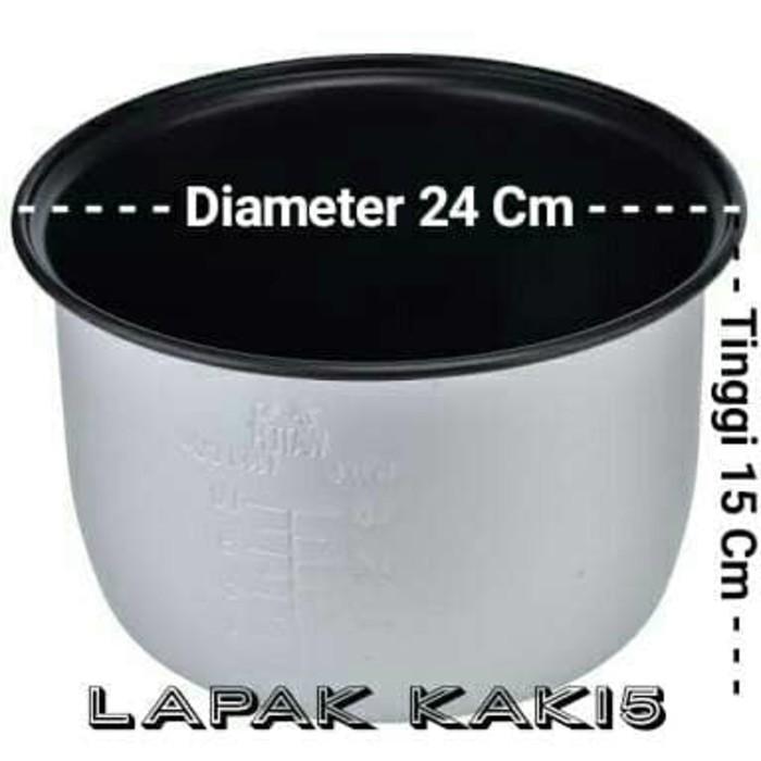 Panci Daleman Rice Cooker Ukuran 1-8 Liter - Xvrljo
