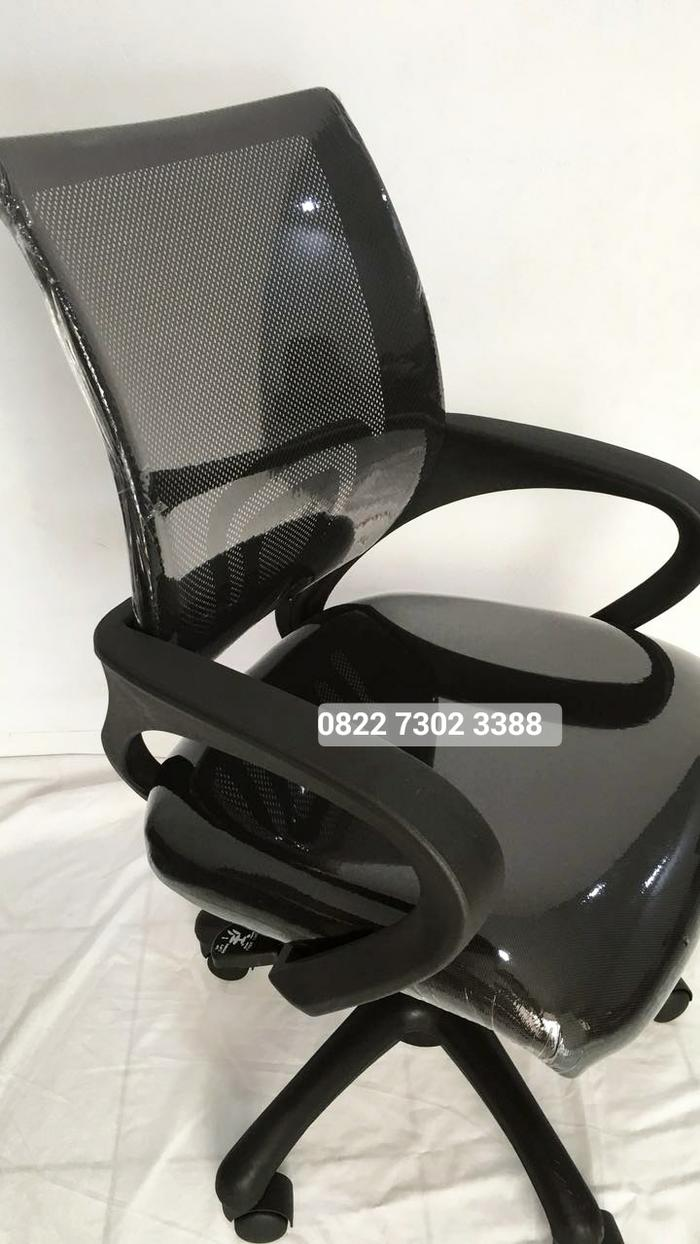 Promo Kursi Kerja Kantor Jaring Sekretaris Manager Office Mesh Chair Gaming Original