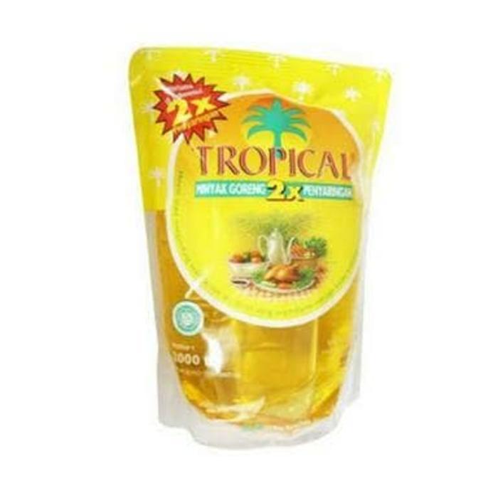 Promo - TROPICAL Minyak Goreng Refill 2 Liter original