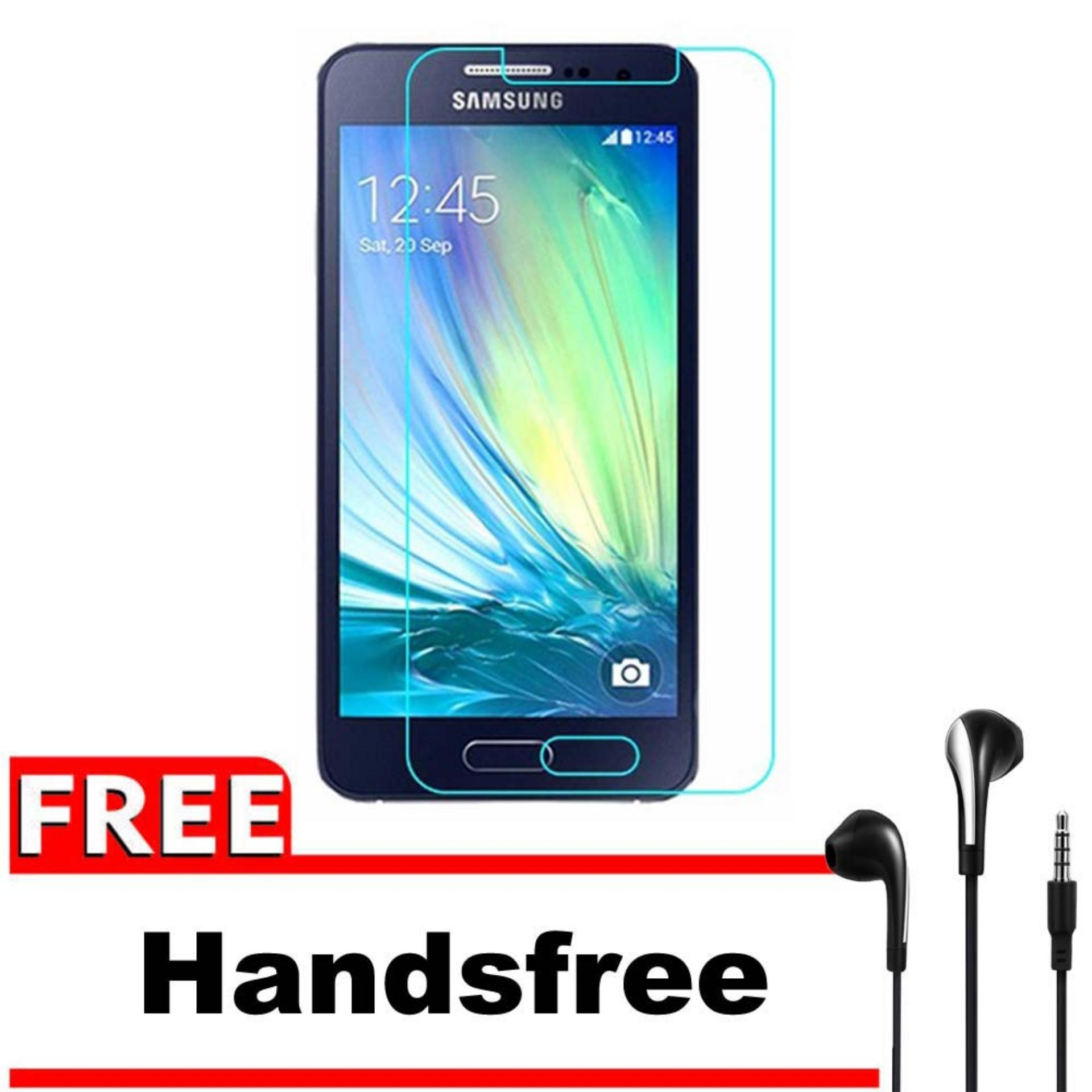 Vn Samsung Galaxy A3 (2015) / A300 / 4G LTE / Duos Tempered Glass 9H Screen Protector 0.32mm + Grat