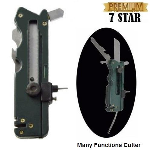 Alat Pemotong Kaca 7STAR - Many Functions Cutter - Pisau Potong 20 Fungsi - Alat Pemotong Kaca Kera