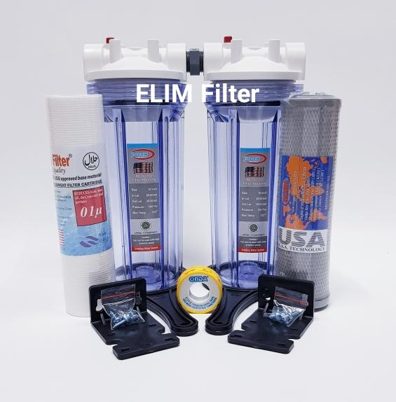 ELIM Filter - Paket 2 Eugen Housing 10 inch Set Filter Air Ledeng / Filter Air PDAM