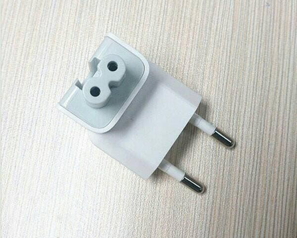 ORIGINAL kepala charger macbook magsafe ipad AC PLUG for indonesia