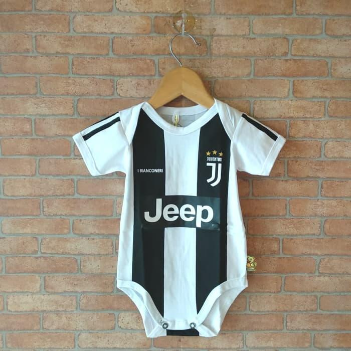 Paling Laris !!! Baju Kaos Bola Bayi Anak Perempuan Laki Lucu I Juventus Home By Raksasa Importir Indonesia.