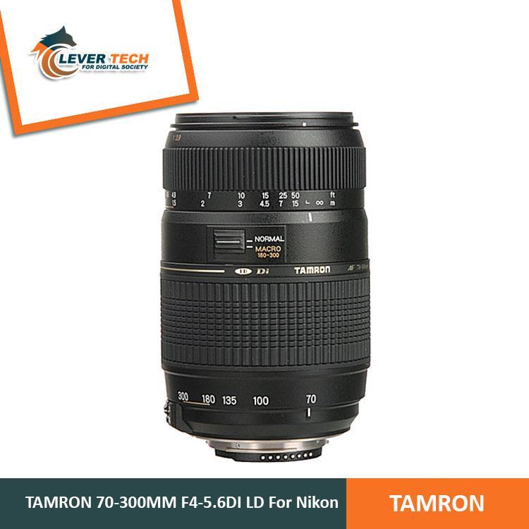Tamron For Nikon AF 70-300mm f/4-5.6 Di LD Tele-Macro (1:2)