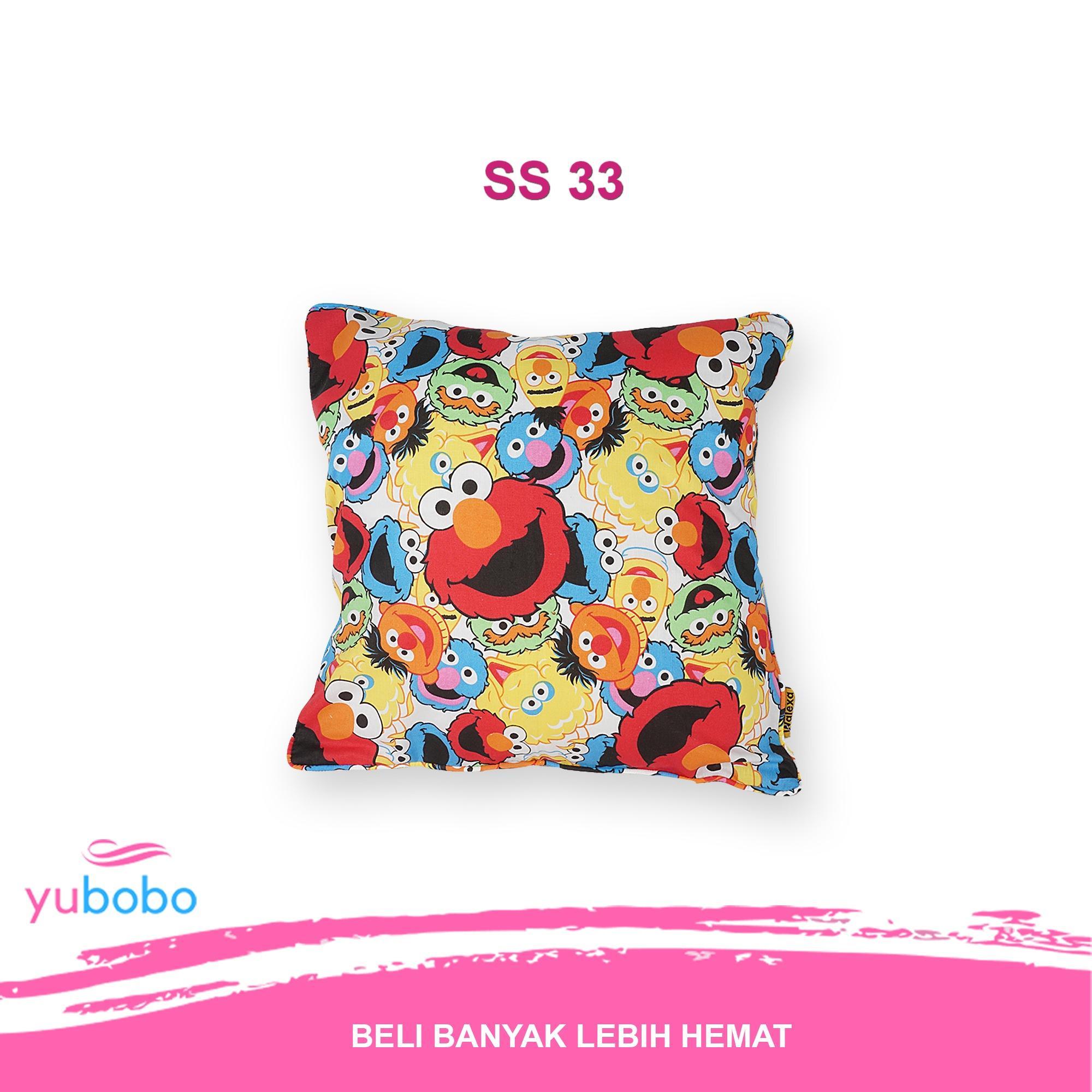 Yubobo - Sarung Bantal Sofa / Kursi / Sopa / Tamu Premium 40 x 40cm (Hanya Sarung) SS890155