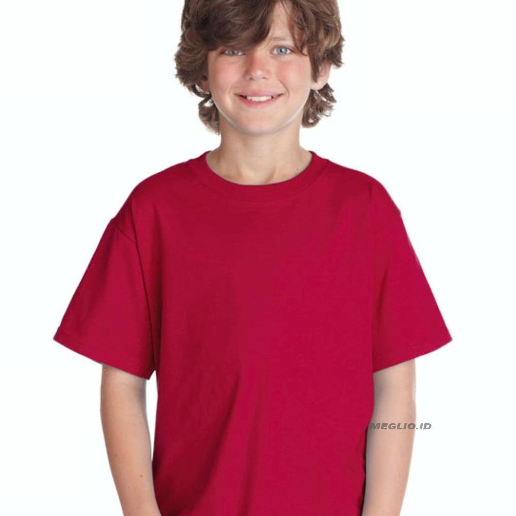 Beli Kaus Polos Bayi Laki Store Marwanto606 Produk Ukm Bumn Kaos Oblong Meglio Anak Pria Kids Boy Maroon
