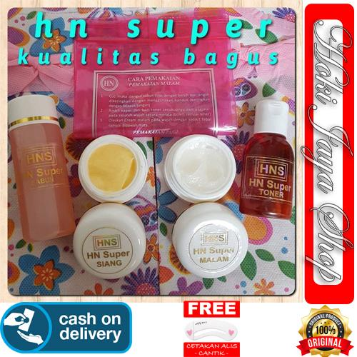 HOKI COD - HN SUPER Cream Original HNS 1 Paket Isi 4 Model - HN Crystal