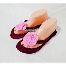 Beli sekarang Sandal Santai Rosalia Cokelat terbaik murah - Hanya ... ee82049881