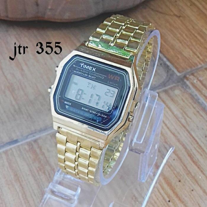 jam tangan timex / jtr 355 gold