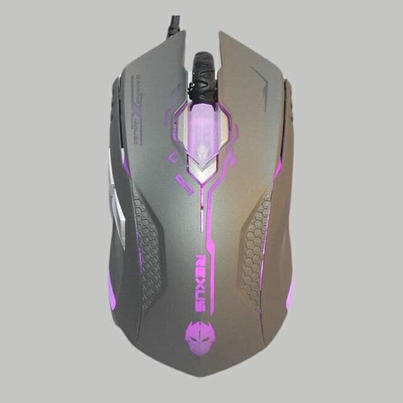 Rexus RXM-X2 2400dpi Elite Sensor Gaming Mouse Mous Game Gamer Gamers- Grey