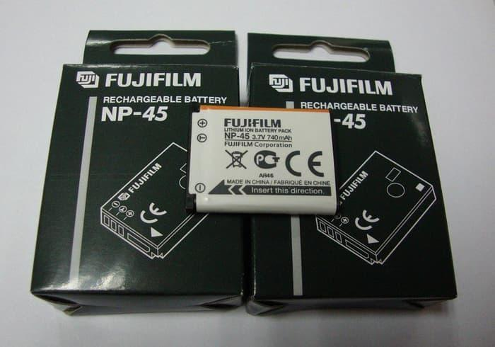 Battery FUJIFILM NP-45 for Kamera FUJI Finepix Z 100FD/20FD/10FD/J10 TERLARIS