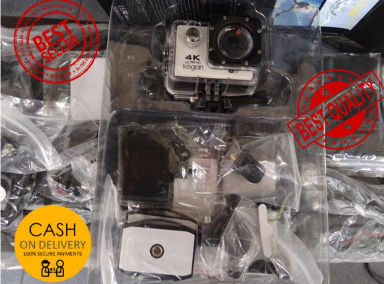 Zero Com - Action Cam Sport Cam Kogan Ultra HD WIFI 4K Fitur Speaker High Quality