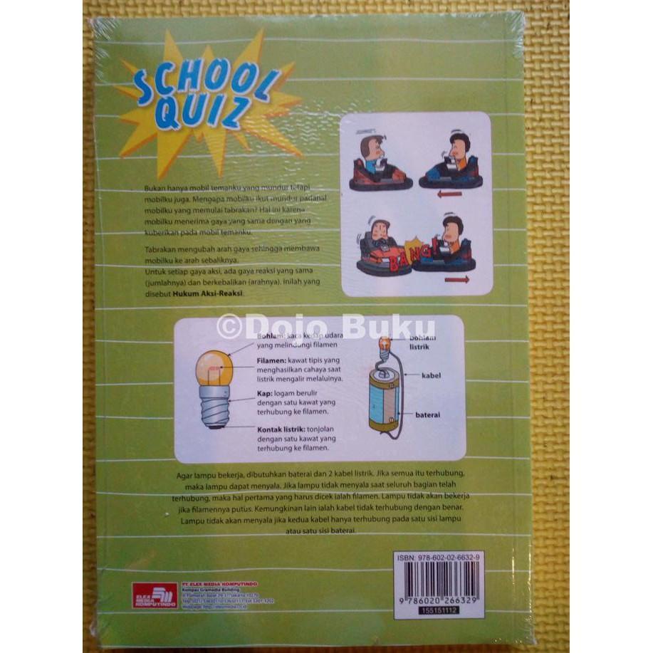 School Quiz - Gerakan & Energi By Hyejin Kim - Kidsbook