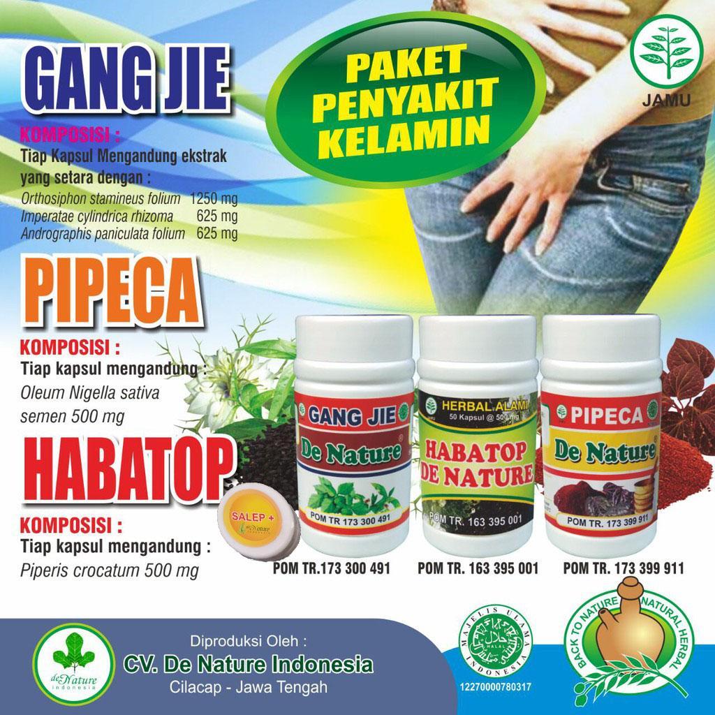 Buy Sell Cheapest Gang Jie Habatop Best Quality Product Deals Obat Sipilis Ampuh Herbal De Nature Paket Lengkap Pipeca