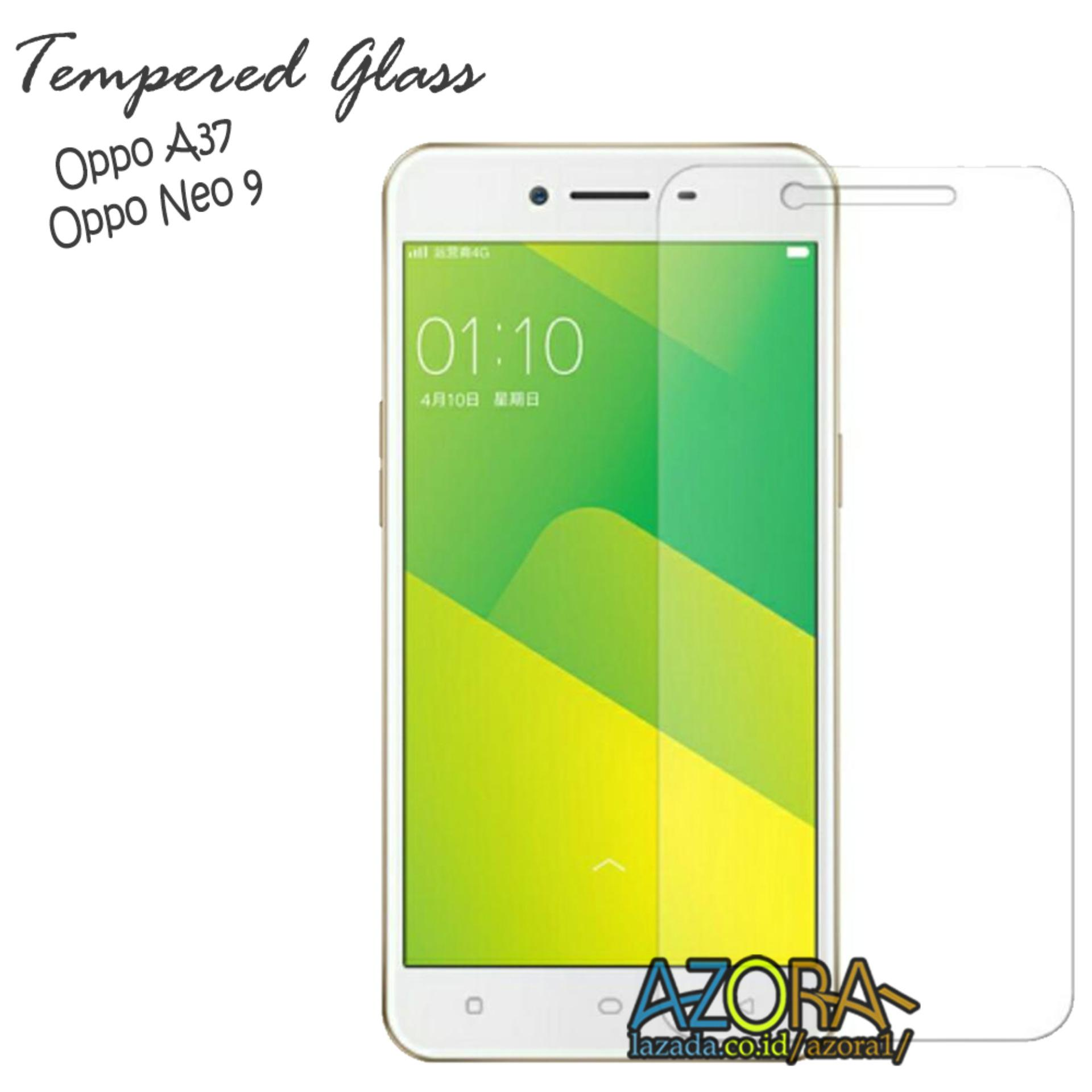 Tempered Glass Oppo Neo 9 / A37F / A37 Screen Protector Pelindung Layar Kaca Anti Gores - Bening