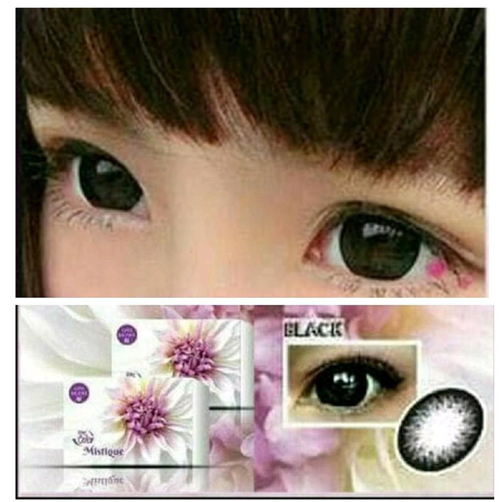 Gensaoptik Softlens Mistique Black Normal / Softlense Mistikue MPS BBS 064