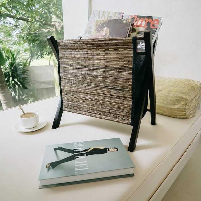 Best Seller!!! Pelandan | tempat koran majalah buku baju storage lidi kayu dekorasi Murah Cantik dan Elegant
